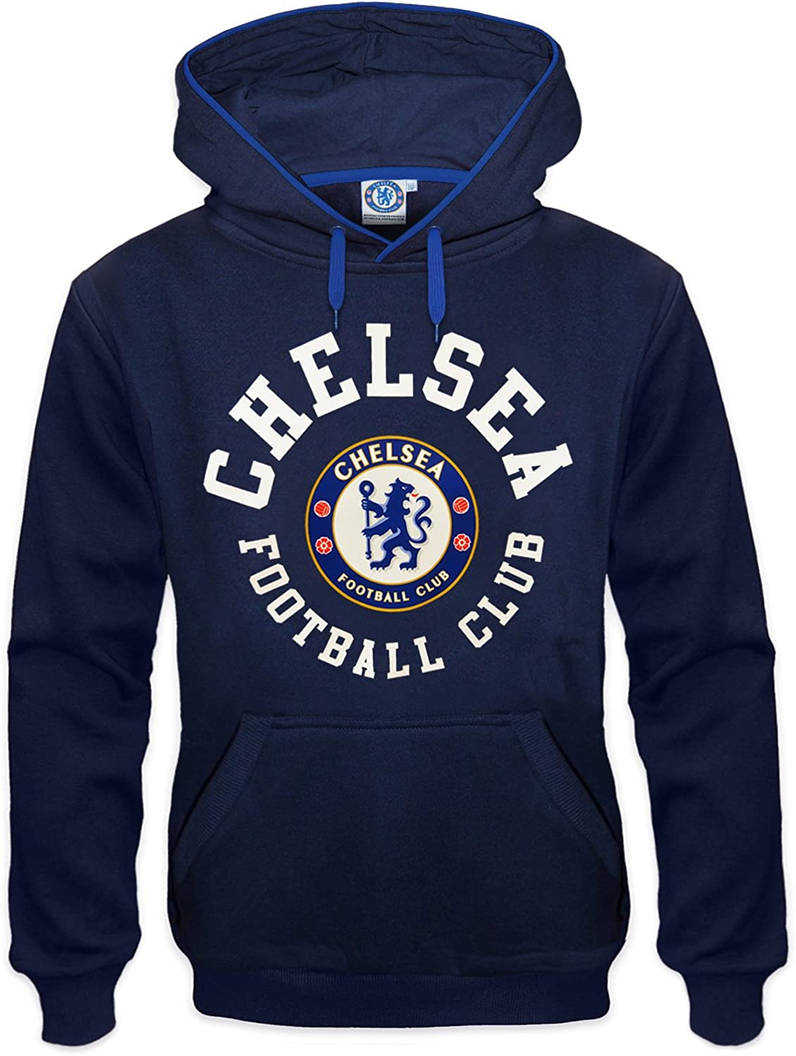 Chelsea 12th Man Fan Hoodie Kids Navy