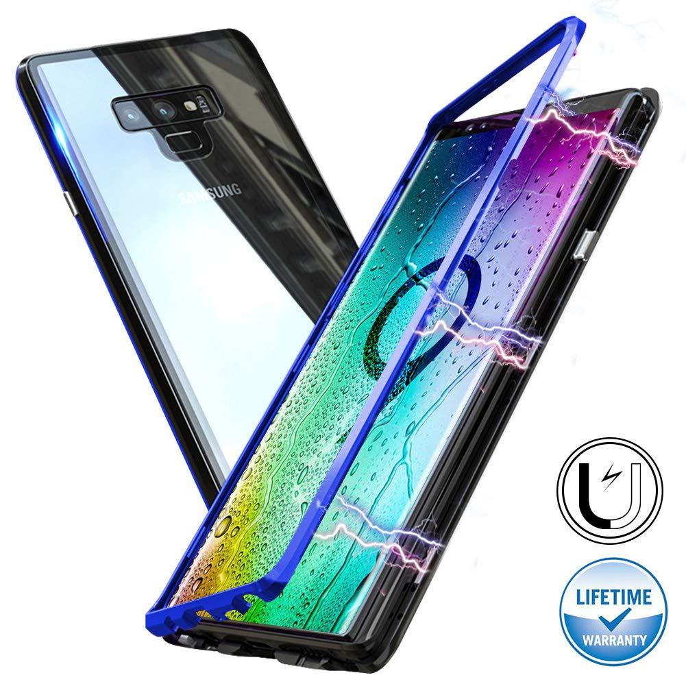 Funda Adsorcion Magnetica Samsung Note 9 Negro-azul Haobuy