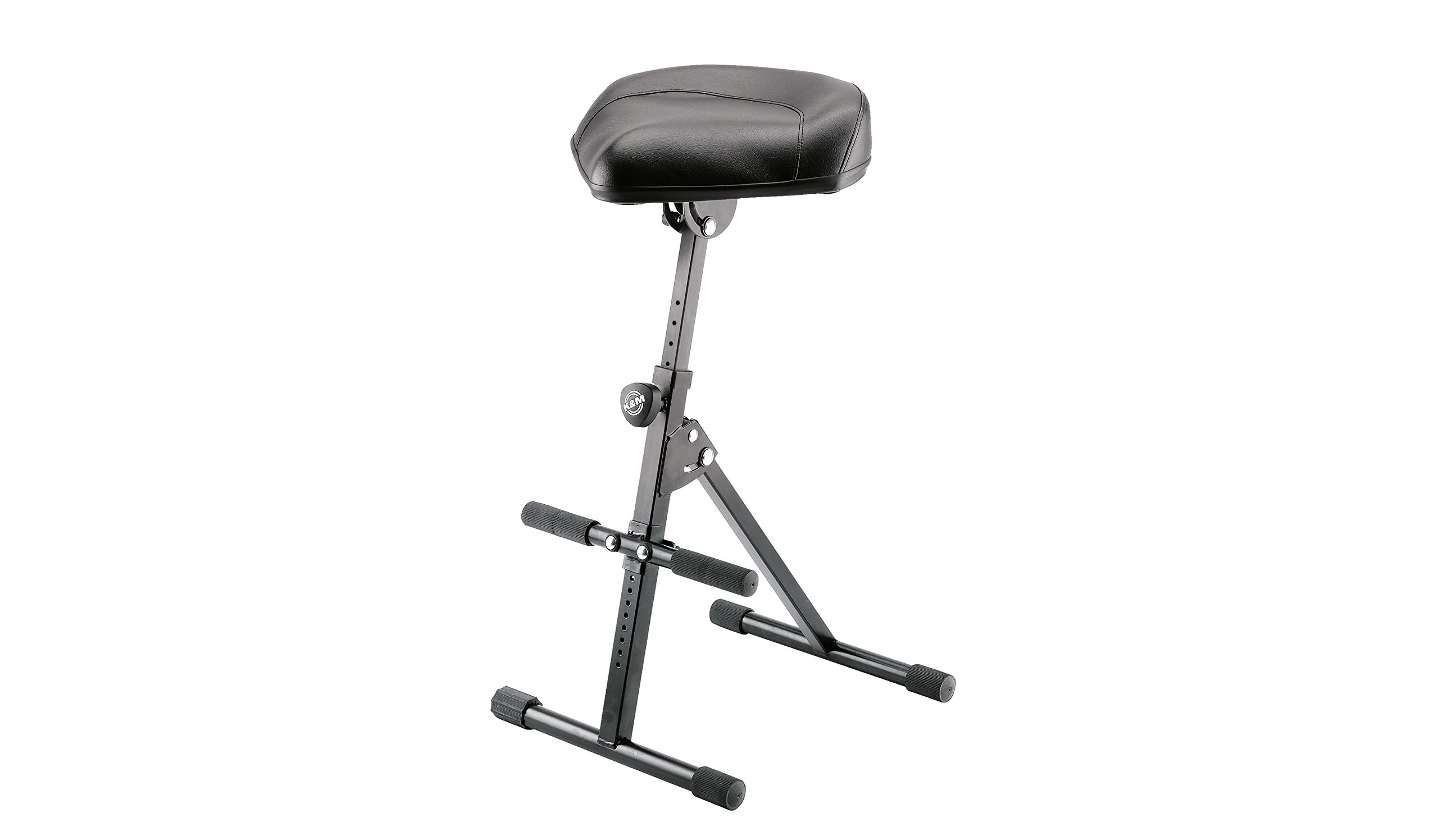 K&M Stands K&M Performance Stool - black imitation leather 14045.000.55 by K&M Stands (Image #1)
