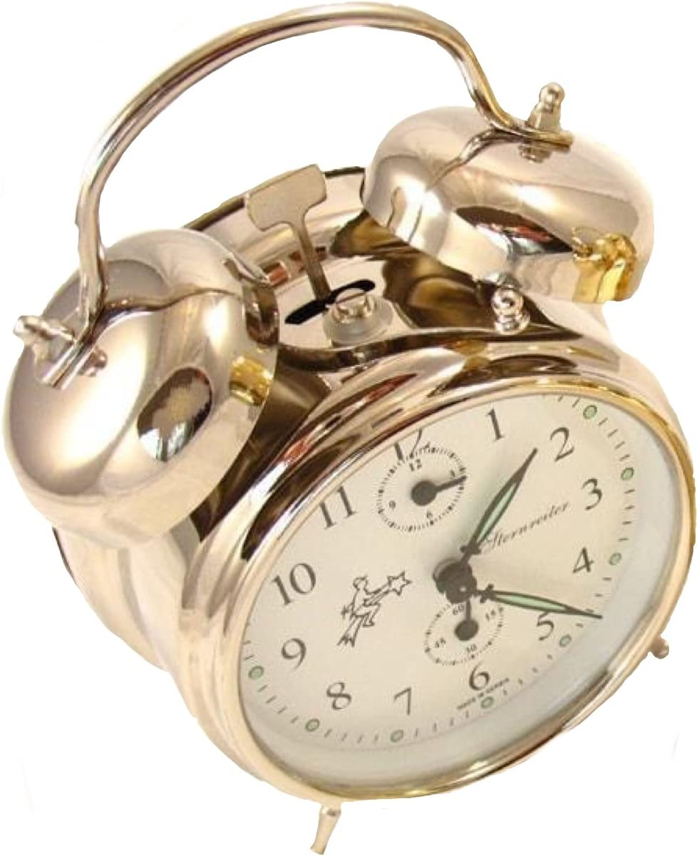 Sternreiter Double Bell Mechanical Wind Alarm Clock