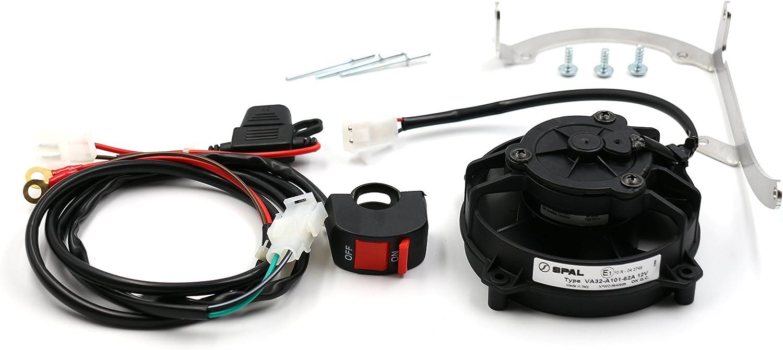 ProRace Ventilador axial, ventilador SPAL original con interruptor para 2 y 4 tiempos
