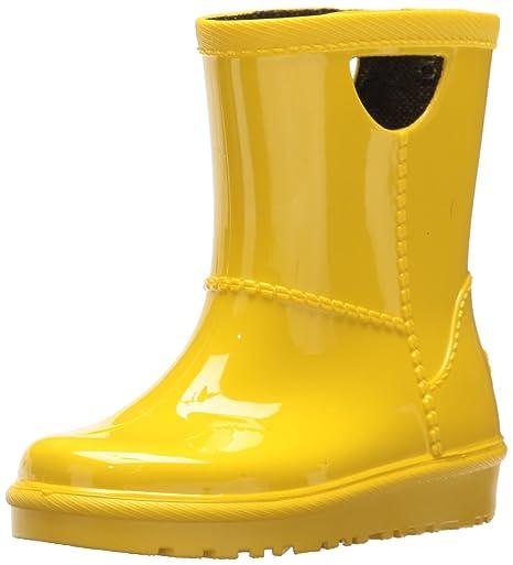 629056bbcd3 ugg Girls t rahjee rain Boot, Lemon Yellow, 7 m us Toddler: Amazon ...