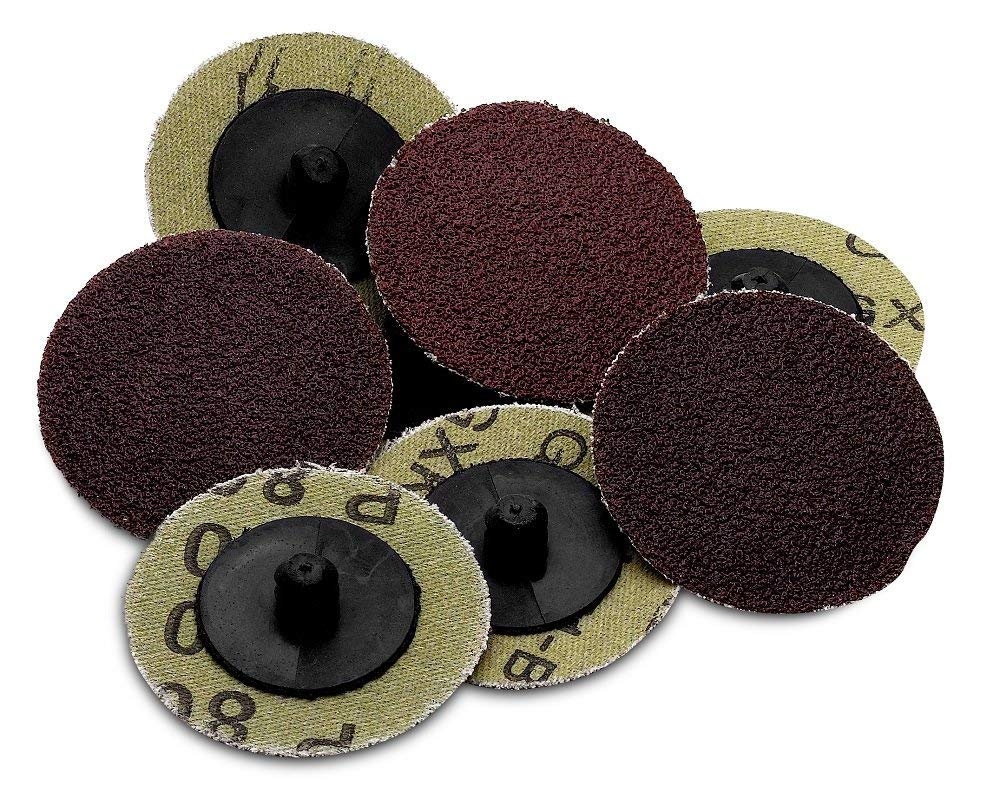 Roloc sanding Disc – 50 Piece Set of Heavy Duty and Durable 2 inches 60 Grit Sander - Automotive, Tools & Equipment, Body Repair Tool - By Katzco
