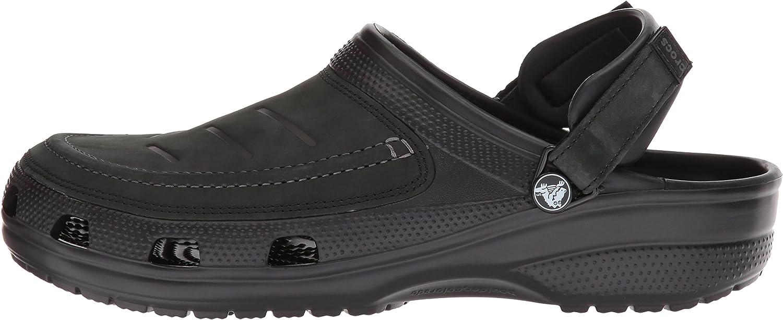 Crocs Mens Yukon Vista Clog Slip On Shoes for Men with Adjustable Fit