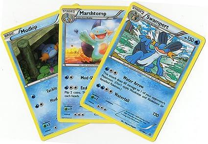 Amazon.com: Set de evolución – SWAMPERT MARSHTOMP Mudkip ...