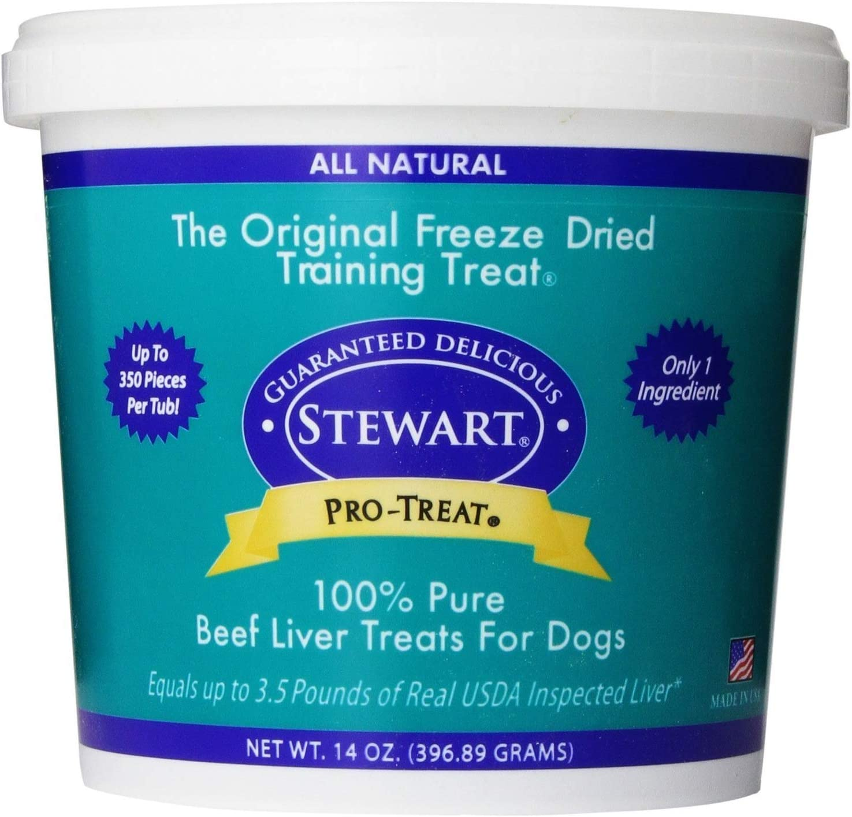 Stewart's Pro-Treat Bag Freeze Dried Dog Treats - 14 Ounce