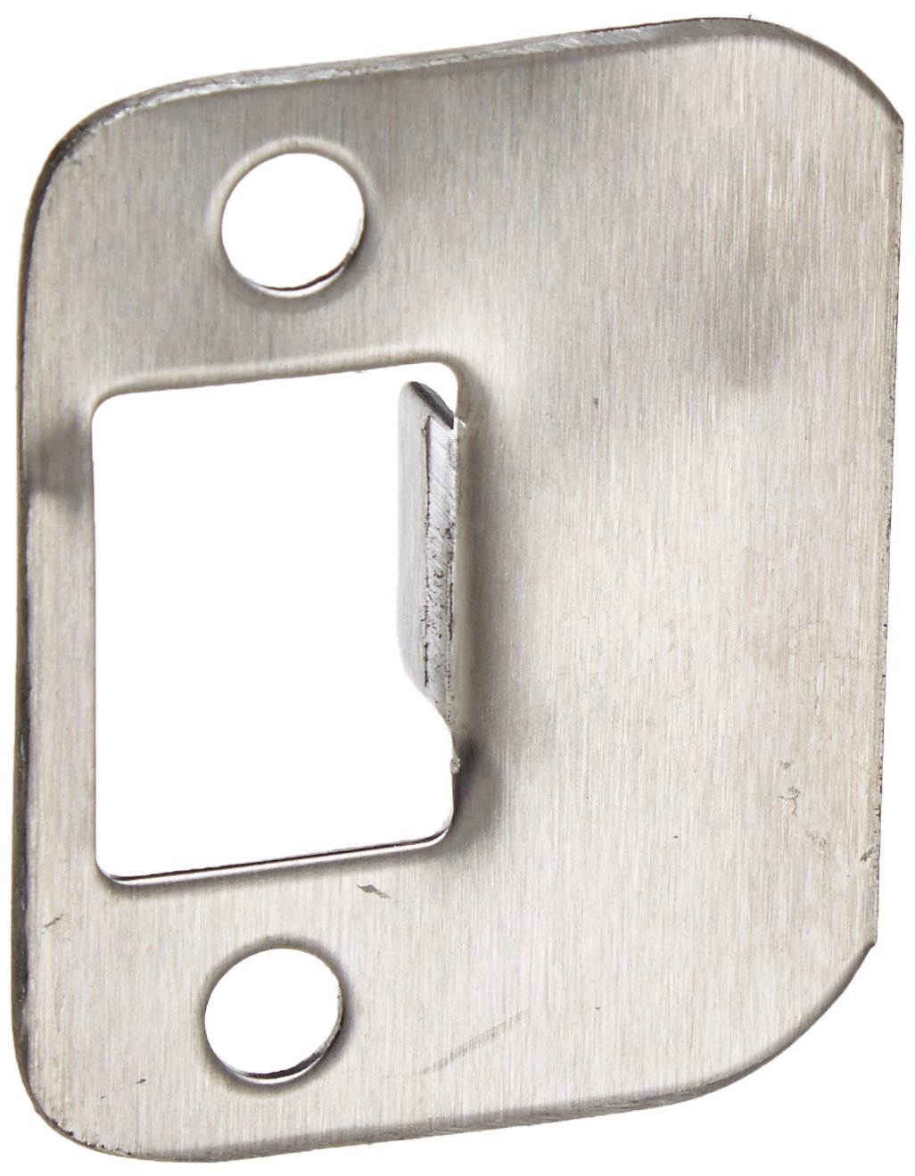 Don-Jo ST 214 RC 18 Gauge Stainless Steel Replacement Strike with Radius Corner Pack of 10 Satin Stainless Steel Finish 1-1//4 Width x 2-1//4 Height
