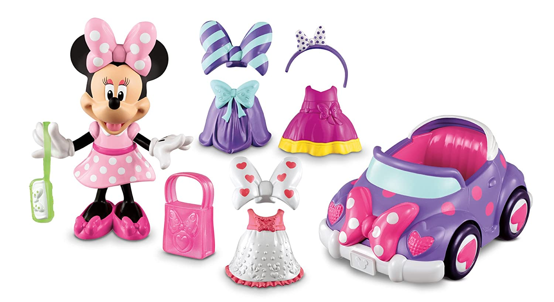 liquidación hasta el 70% La Casa De Mickey Mouse Mouse Mouse - Descapotable de Minnie (Mattel Y1892)  barato