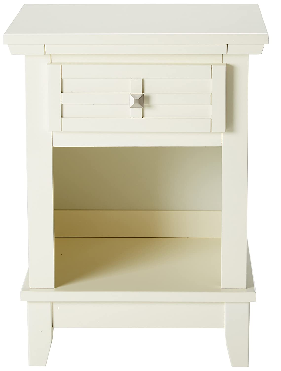 standard nightstand height amazon com home styles 42 arts and crafts night stand white