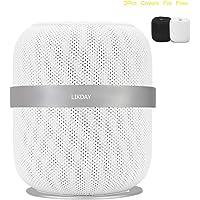 LIKDAY Speaker Stand Aluminum Alloy Holder for Apple HomePod (Silverr)