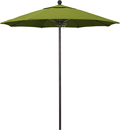 California Umbrella 7.5' Round Aluminum/Fiberglass Umbrella