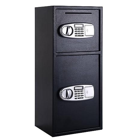 Amazon.com: Giantex con doble puerta digital Caja de Drop ...