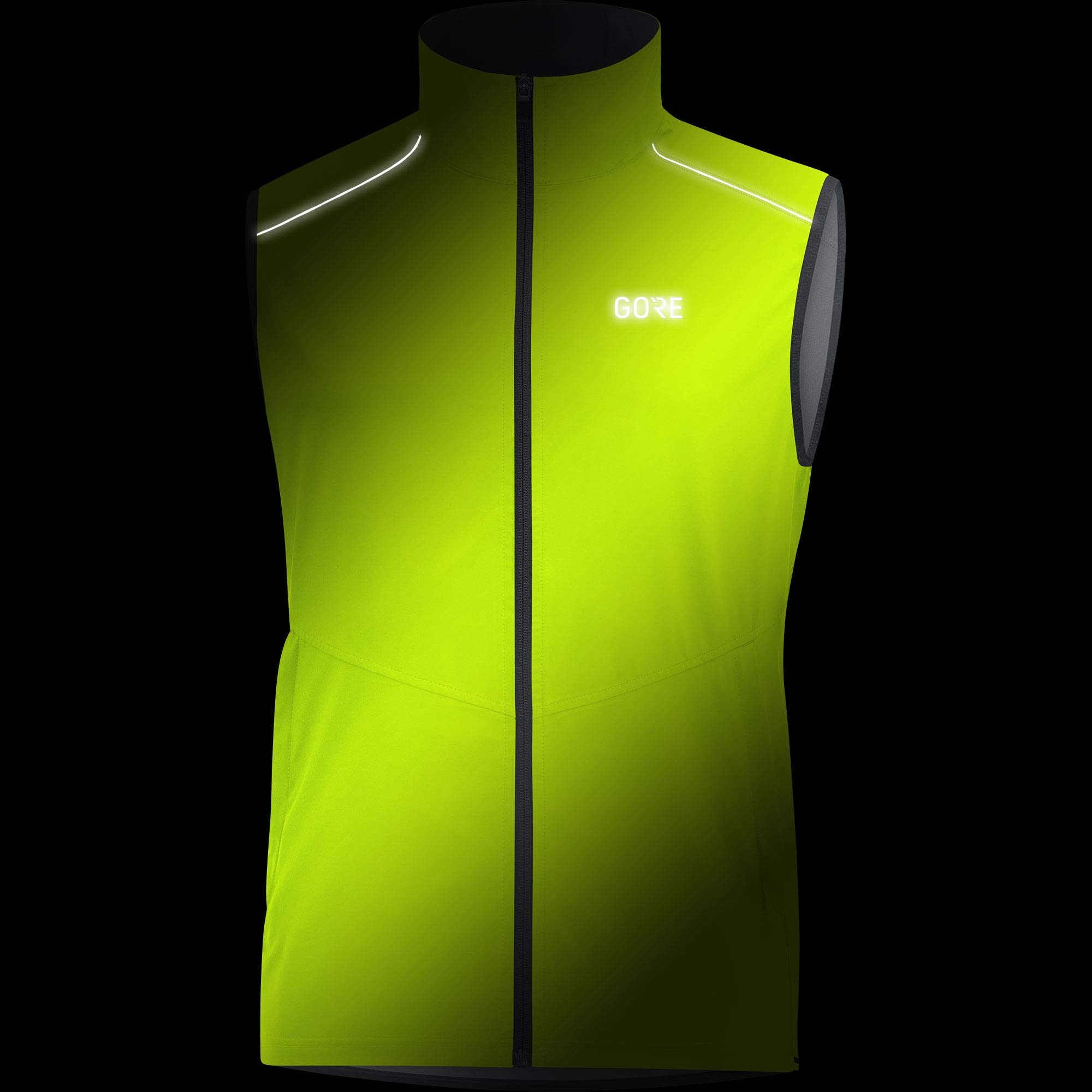 Gore Men's R3 Gws Vest,  neon yellow,  L by GORE WEAR (Image #3)
