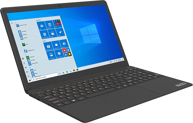 EVOO EVC156-1 15.6 FHD Laptop with Intel Quad Core i7-6660U 8GB RAM / 256 SSD/Windows 10