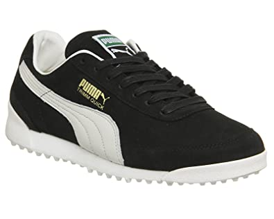 Puma Trimm Quick Black Waxed Nubuck - 9 UK