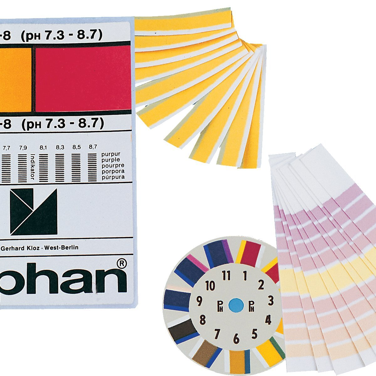 Neolab 3  3827  papier Indicateur de pH Lyphan, 0,3, 4.9/7.9, 6  m 6 m 3-3827