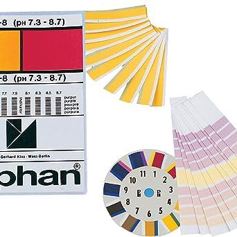 0.0/ 1/Ph Neolab 3/3829/PH indicatore Paper Lyphan 6/m /14.0/PH