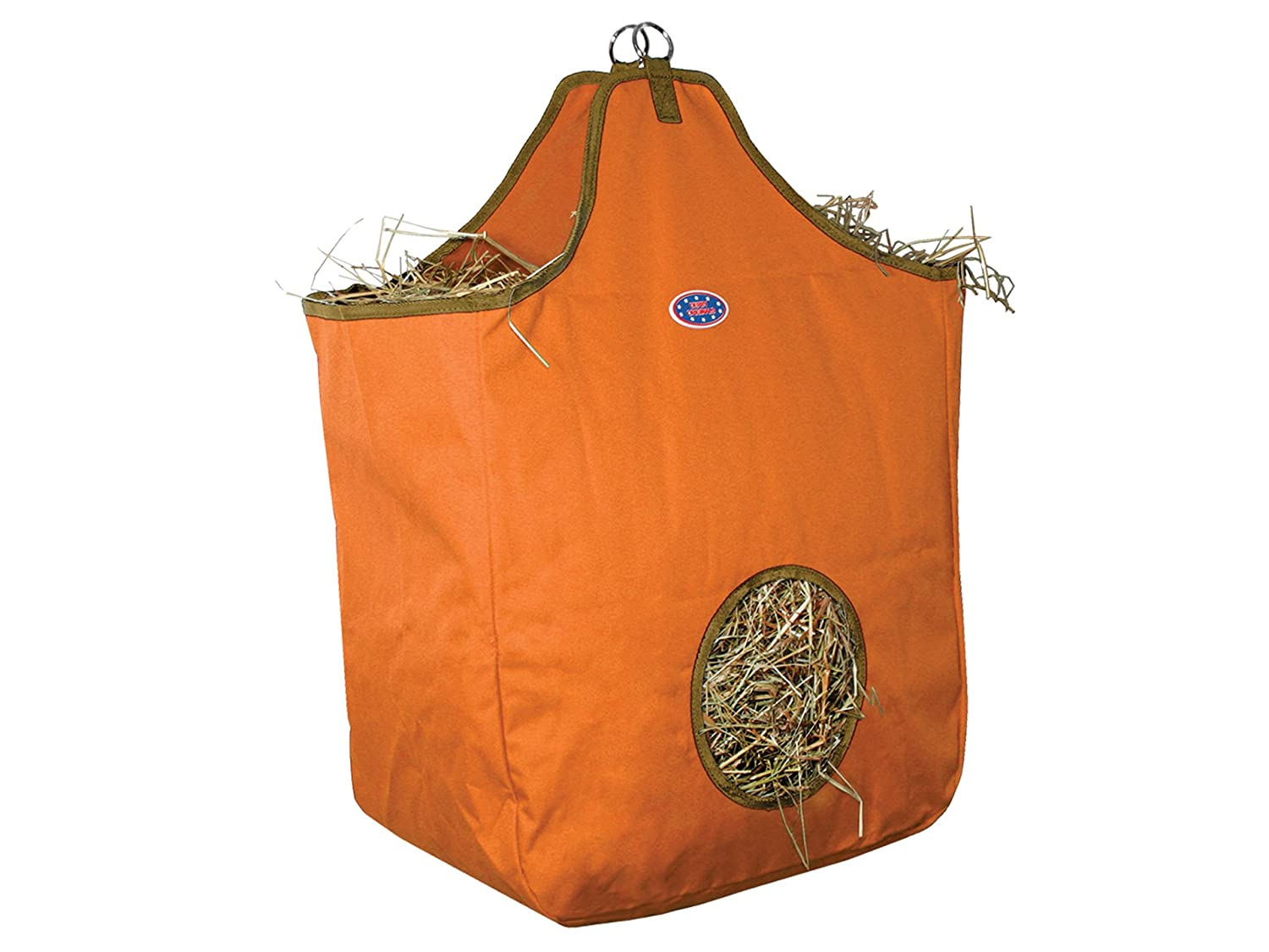 Derby Originals Nylon Hay Bags Large with D Ring 71-7110C-NY