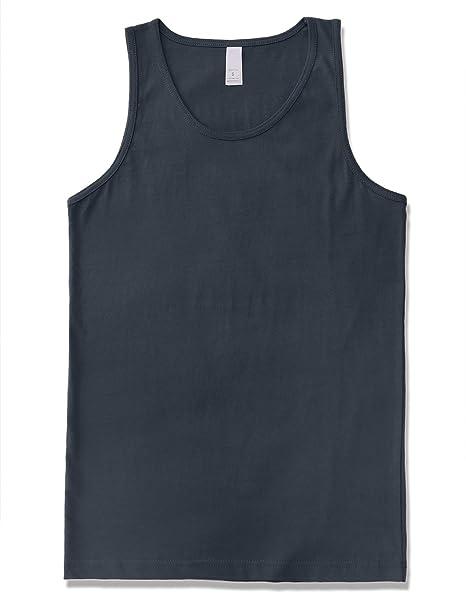 593c127fd711d JD Apparel Men s Premium Basic Solid Tank Top Jersey Casual Shirts S Harbor  Blue