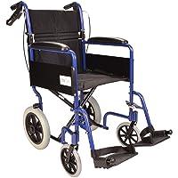 Ligera silla de ruedas de tránsito plegable