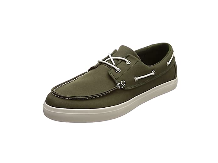 TALLA 44 EU. Timberland Newport Bay 2 Eye Canvas, Mocasines para Hombre