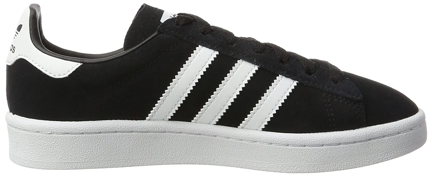 factory price e096f 3e601 Amazon.com  adidas Youth Campus Suede Synthetic Core Black White Trainers  3.5 US  Fashion Sneakers