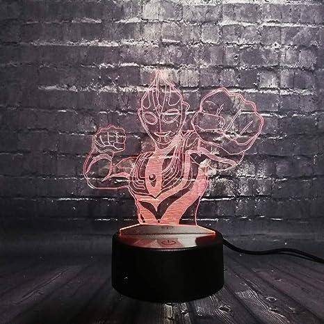 KangYD Altman Hero 3D Night Light/LED Sleep Lamp/Bedroom Light ...