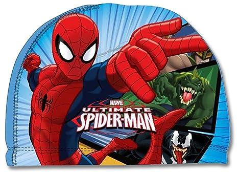 Spider-Man Cuffia Nuoto Mare Piscina Bambino in Tessuto Elasticcizato  Prodotto Ufficiale 770-787 2529f285bdc0