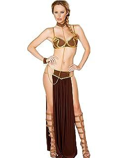 Amazon.com: Xcoser Princess Leia Pelucas Peluca Peluca ...