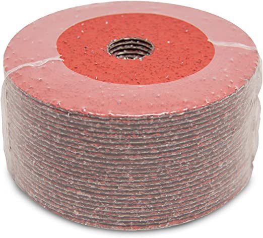 "25 Pack 7/"" Ceramic Resin Fiber Disc 60 Grit 7 inch Grinding /& Sanding Discs"