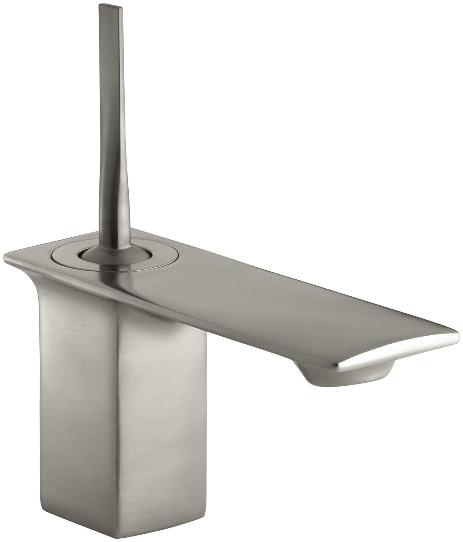 KOHLER K 4 BN Stance Single Control Lavatory Faucet Vibrant
