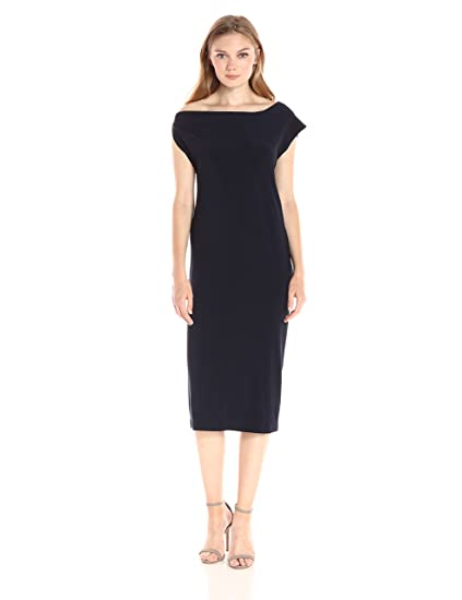 d661cfcf Norma Kamali Women's Drop Shoulder Dress at Amazon Women's Clothing store: