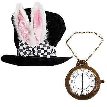 Adulto LUJO país de las maravillas conejo Sombrero Con ...
