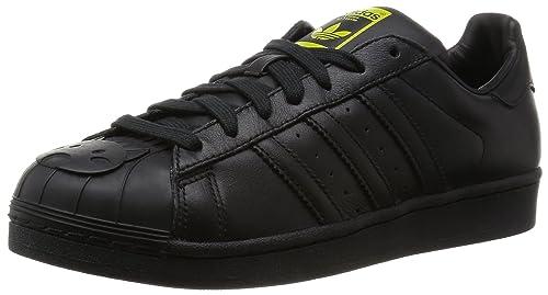 adidas Superstar 1 Mr Fashion Black Mono Shell Toe - 5 UK