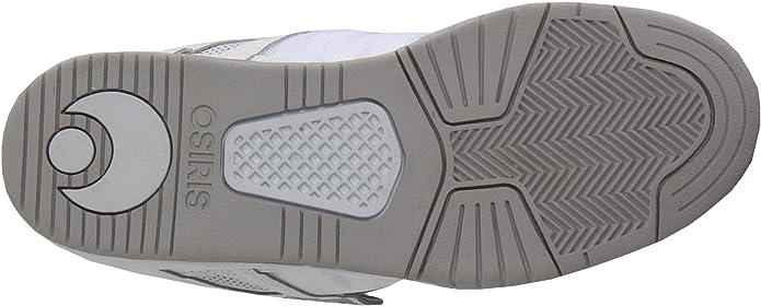 d754ca81a2e Osiris Men's Pixel Skate Shoe, White/Cement/Silver Leather, 8.5 M US:  Amazon.co.uk: Shoes & Bags