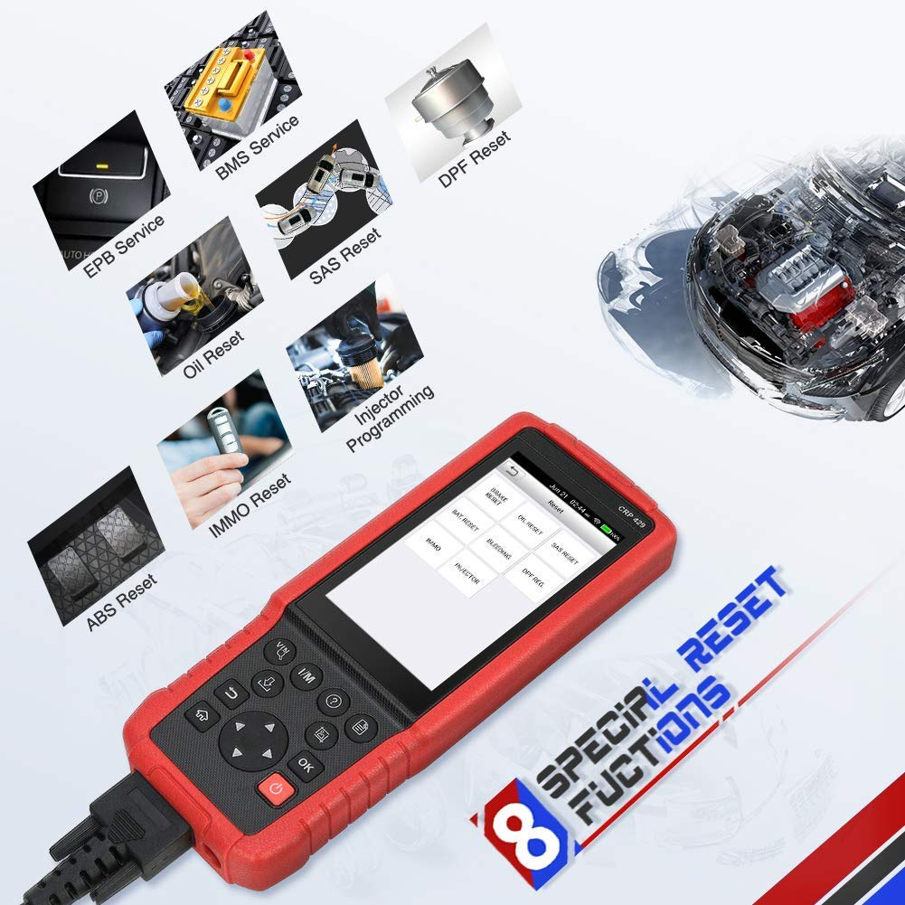 LAUNCH X431 V+ OBD2 EOBD Diagnoseger/ät Diagnose Werkzeuge WiFi Bluetooth Android Full System OBD2 Scanner Scann-Tool und 10.1zoll Touch-Display Pro3