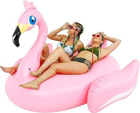 Amazon.com: Sundaze flotadores de natación piscina flotante ...
