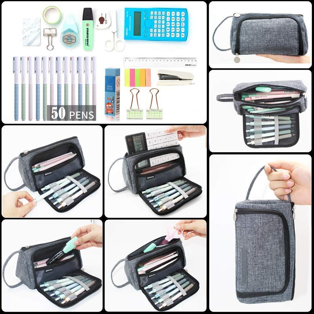 Amazon.com: DZTZ Pencil Case, Big Capacity Storage Bag Pen ...