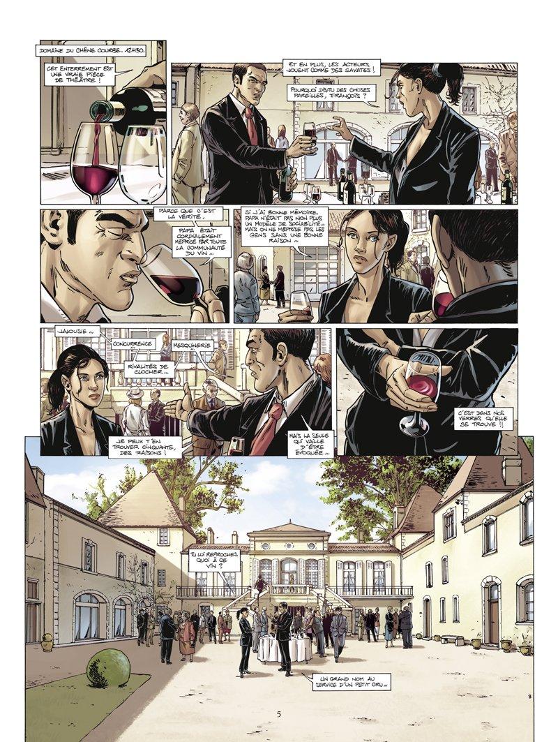 bande dessinee chateau bordeaux tome 6