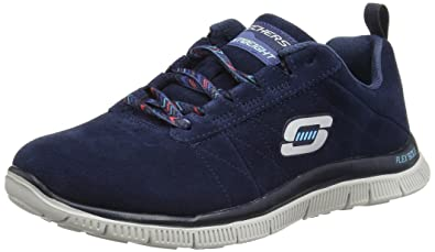 56edd503ce09 Skechers Women s Flex Appeal Casual Way Low-Top Trainer  Amazon.co ...