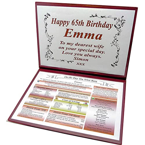 NWM Gifts 65TH BIRTHDAY GIFT