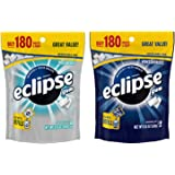 Eclipse Sugar Free Breath Mints Gum Variety Pack. Convenient One-Stop Shopping for Popular Eclipse Breath Mints: Polar Ice and Winterfrost. Easy to Source With 1 Click. Snacking Heaven!