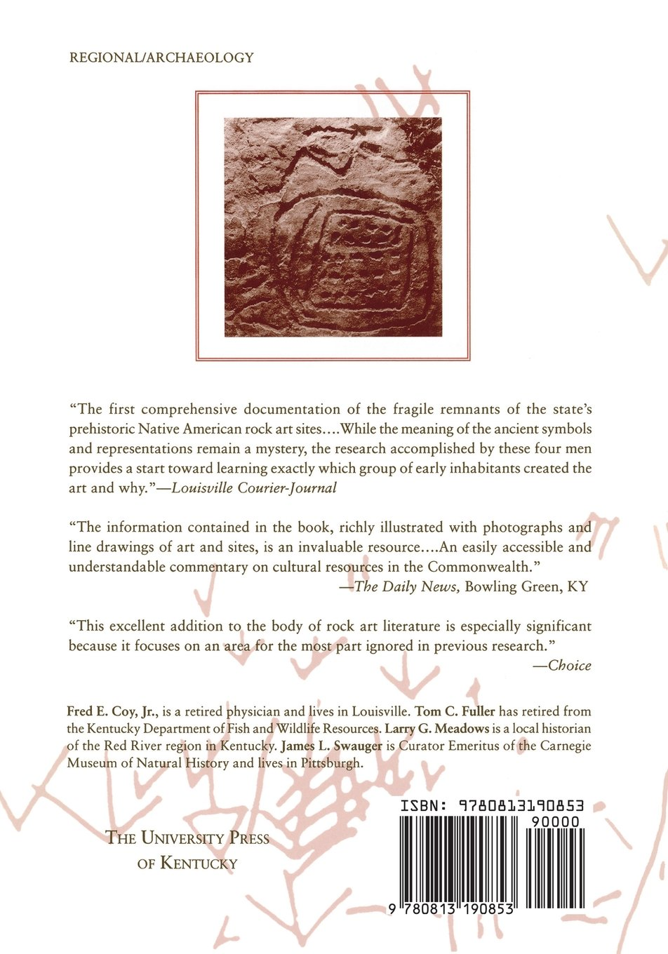 Rock art of kentucky perspectives on kentuckys past fred e coy rock art of kentucky perspectives on kentuckys past fred e coy jr thomas c fuller larry g meadows james f swauger 9780813190853 amazon biocorpaavc Image collections