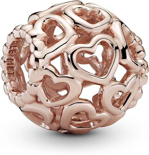 Pandora Women Gold Plated Bead Charm - 780964