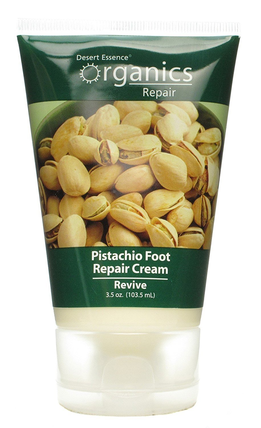 Desert Essence Organic Foot Repair Cream Pistachio - 3 fl oz BHBAZUSF0518A3893