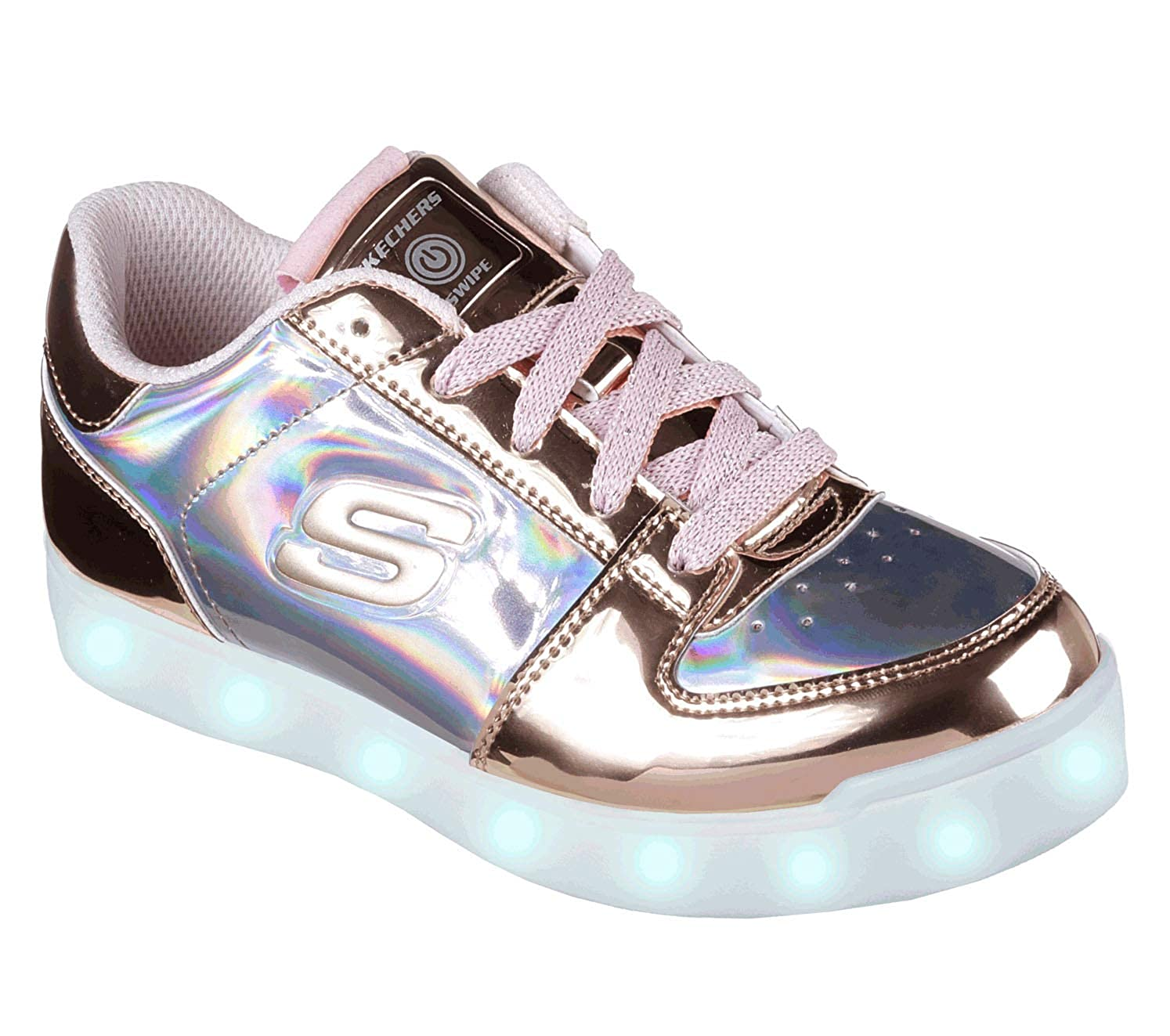 Skechers Mädchen Energy Lights Shiny Sneaks Sneaker