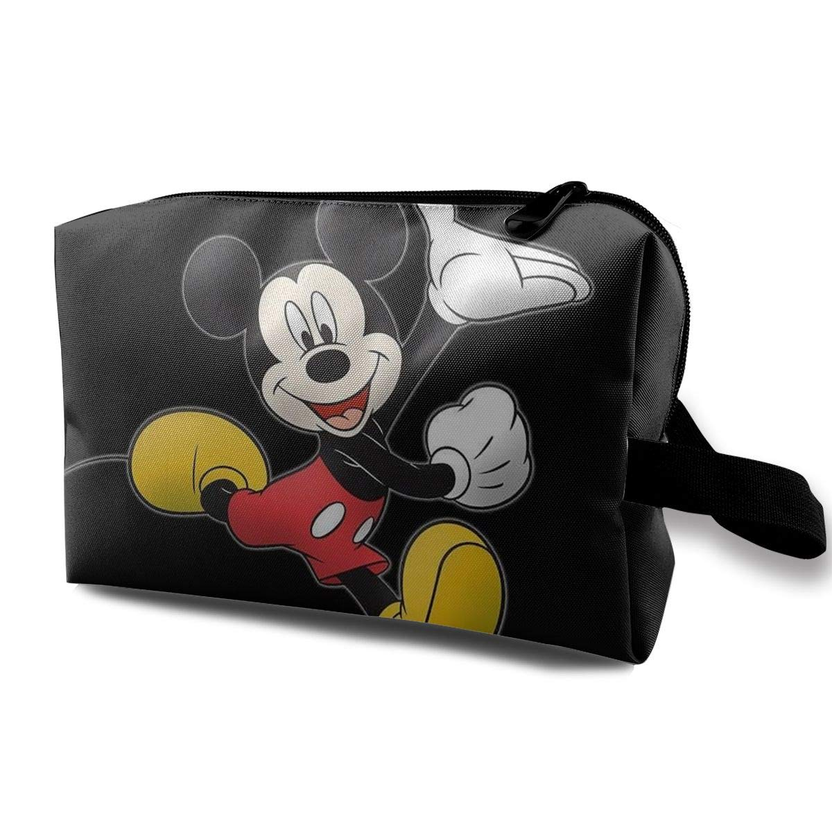 LIUYAN Toiletry Bag Happy Mickey Mouse Make Up Organizers and Storage for Women Girls