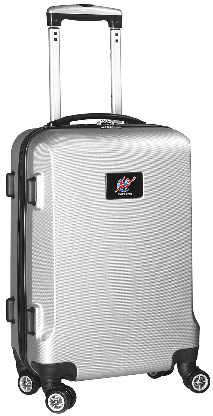 NBA Washington Wizards Carry-On Hardcase Spinner, Silver