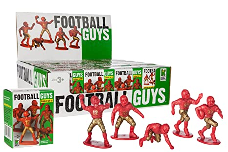 Red vs Blue  Inspires Imagination with Open-Ended Kaskey Kids Football Guys