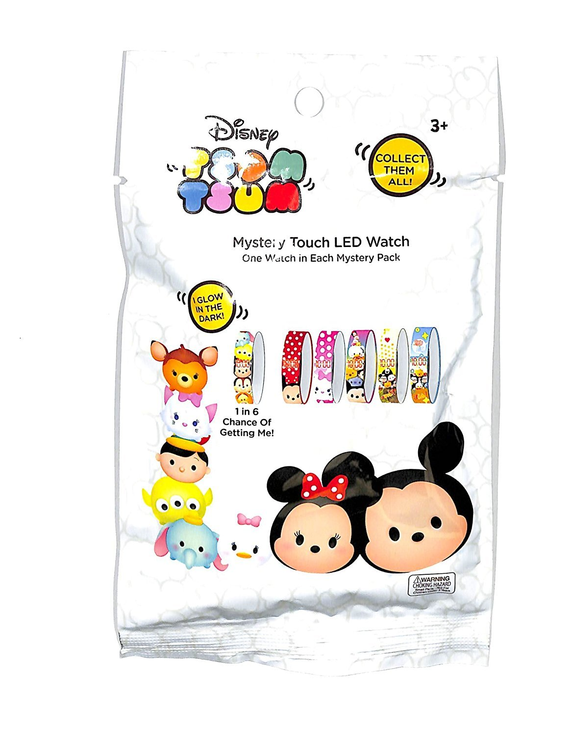 Disney Tsum Tsum Mystery Touch LED Watch 100 Blind Bags